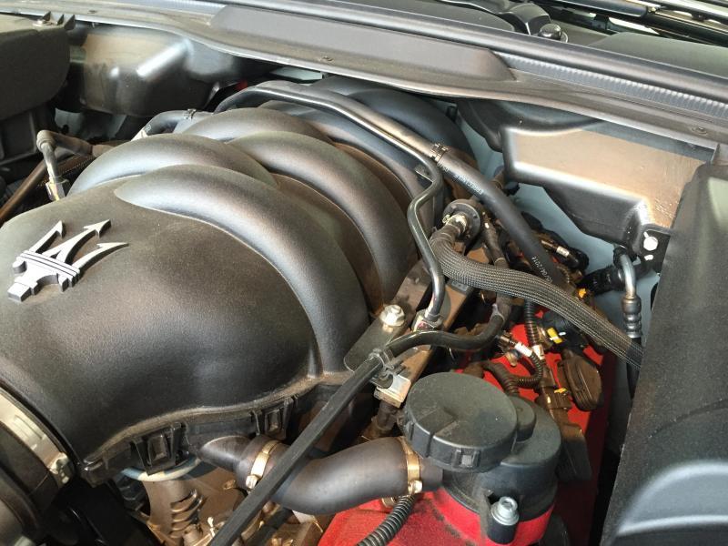 V8 4,7Lエンジン